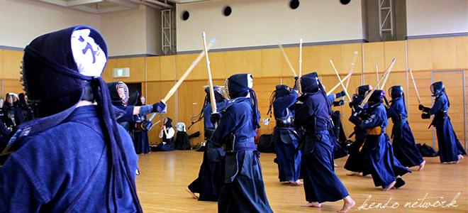 社会人剣道サークルkentの剣道風景画像